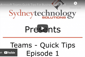 Microsoft Teams Quick Tips for Businesses in Sydney