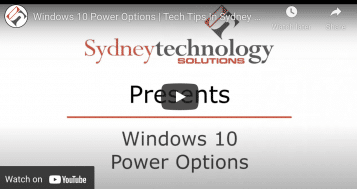 The Basics of Windows 10 Power Options