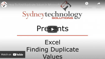 How To Find Duplicate Values in Excel